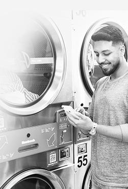 laundromat crm